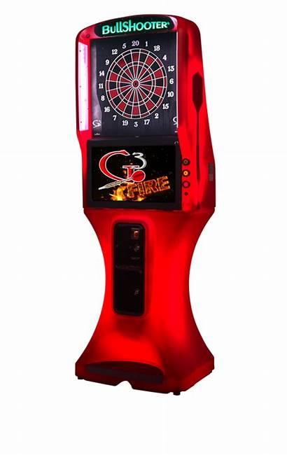 Dart Board Arcade Rental Fire G3 Led
