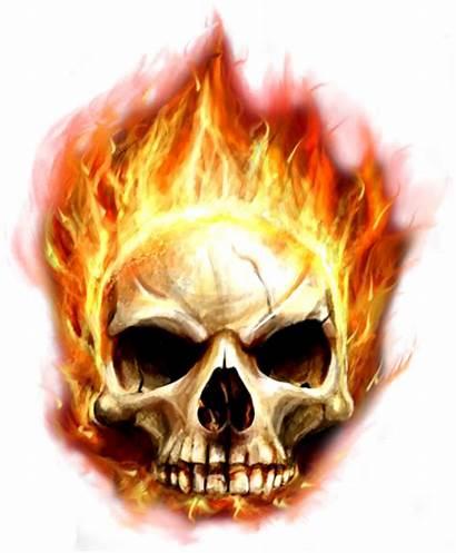 Skull Fire Transparent Clipart Pngall Psd Picsart