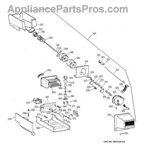 parts  ge tbxpcsrrww ice bucket parts appliancepartsproscom