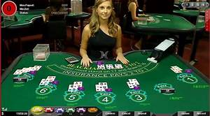 Counting cards in online blackjack with live dealers