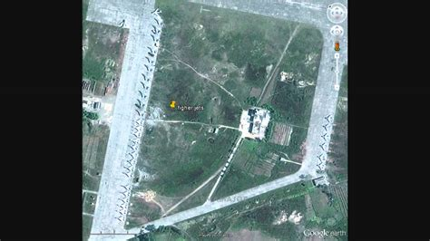 google earth owns north korea part  spotting