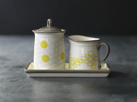 The sugar and creamer set compliments the contemporary aesthetics of the bond coffee cups and is a perfect addition to your bond collection. Cream & Sugar Set with Tray: $46. Serve your coffee lovers their cream and sugar in style ...