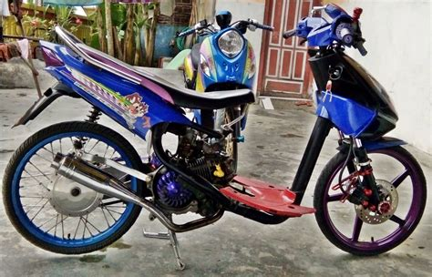 Modif Racing by Modifikasi Mio Racing Modif Motor 2017