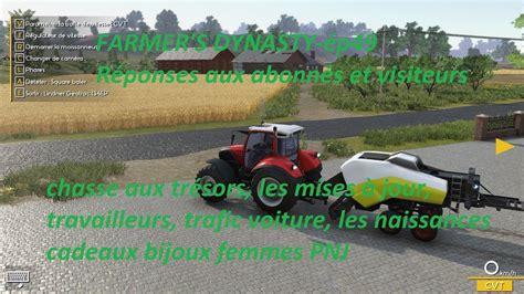 Farmer's dynasty-ép49- Réponses aux abonnés et visiteurs HD FR - YouTube