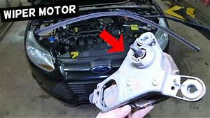 How To Remove And Replace Windshield Wiper Motor On Ford