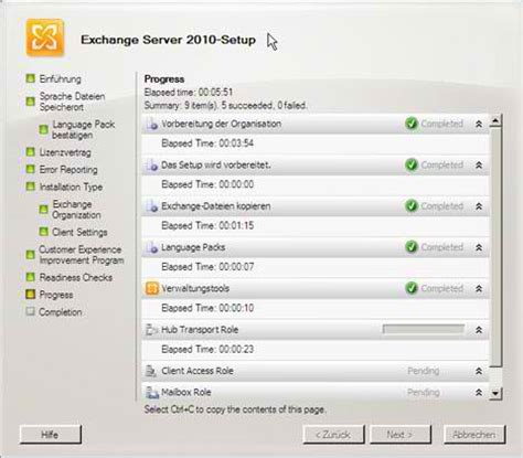Exchange Server 2010 Resume by Microsoft Exchange Server 2010 14 01 0218 015 Free
