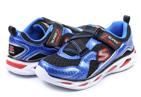 skechers light up skechers shoes ipox light up 90385l blbk shop