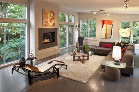 Decor Settings With Brown Sofa Home Decor