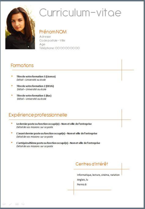 modele cv femme de chambre hotellerie best 25 cv francais ideas on curriculum vitae