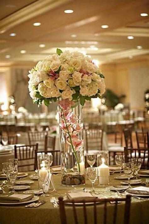 inexpensive diy tall wedding centerpiece walker wedding