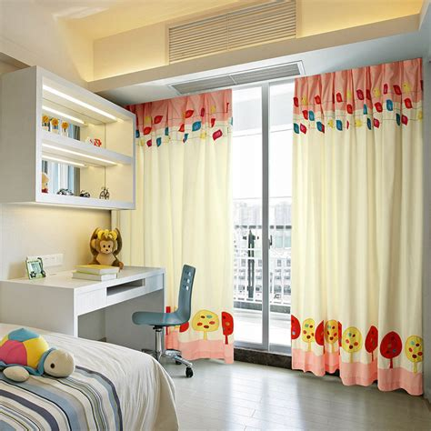 blackout bedroom curtains with patterns of chicken