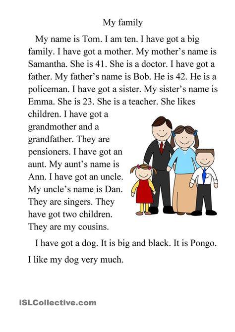family  family essay paragraph writing essay