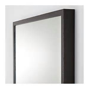 ikea bathroom storage ideas stave mirror black brown 70x160 cm ikea