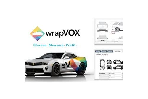 vehicle wrap template software download
