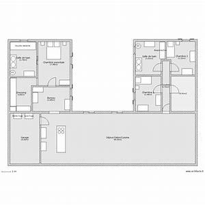 Plan Maison U : plan maison en u ~ Dallasstarsshop.com Idées de Décoration