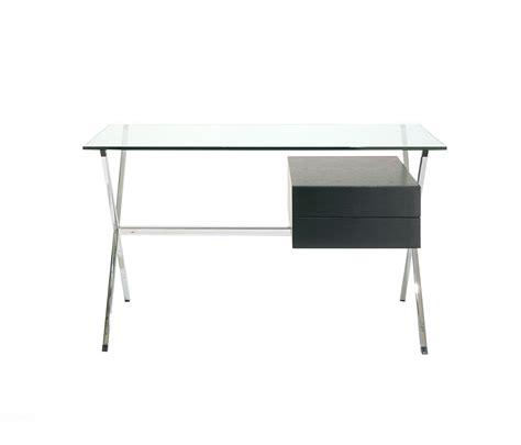 bureau avec plateau en verre bureau avec plateau en verre beautiful xtime work bureau