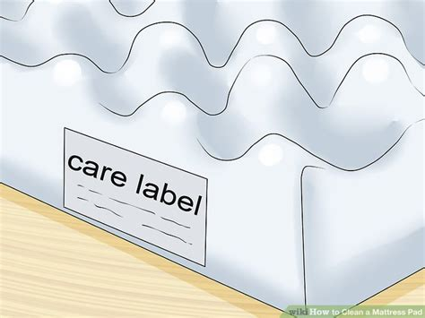 how to clean mattress pad 5 ways to clean a mattress pad wikihow