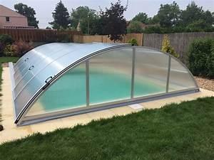Zastřešení bazénů akce