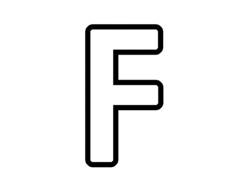 Letter F Clipart