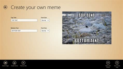 App To Create Meme - meme generator for windows 8 and 8 1
