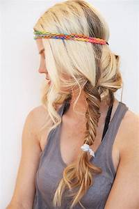 Attractive Summer Boho Hairstyle for Girls - HairzStyle ...
