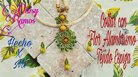 Collar con Dije de Flor Alambrismo DIY YouTube