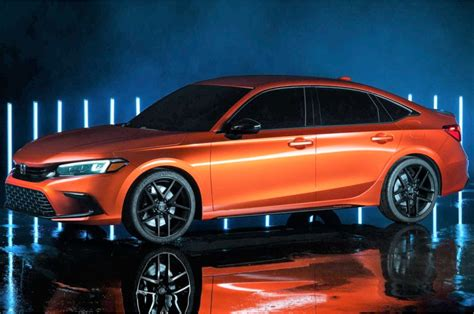 Honda Civic 2022 revealed in prototype form ahead of 2021 ...