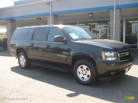 2010 black granite metallic chevrolet suburban ls 4x4