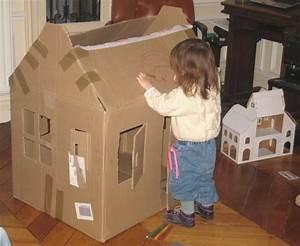 Cabane En Carton À Colorier : comment construire une cabane en carton pour lapin seaandsea ~ Melissatoandfro.com Idées de Décoration