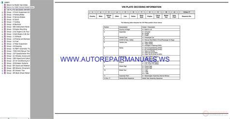 car repair manual download 1999 chrysler sebring lane departure warning chrysler dodge sebring fj parts catalog part 2 1997 1999 auto repair manual forum heavy