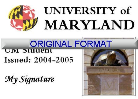 Free id cards for those with special conditions. ᐅ FAKE ID MARYLAND UNIVERSITY STUDENT ID FAKE ID