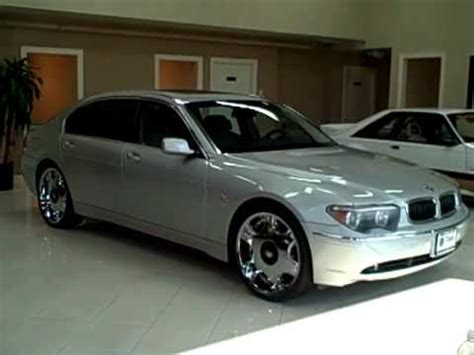 04 Bmw 745li by 04 Bmw 745li Silver Titan Auto Sales In Worth Il