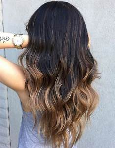 Ombré Hair Chatain : ombr hair brune ombr hair les plus beaux d grad s de ~ Dallasstarsshop.com Idées de Décoration