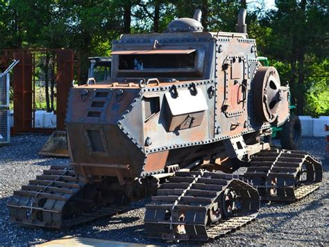 tucker zombie vehicle cat steampunk survival apocalypse snowcat armored sno vehicles snow trucks armoured cars 1979 zombies tank armour equipped