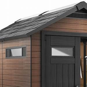 Abri Jardin Keter : abri de jardin en composite bois r sine 6 57m fusion ~ Edinachiropracticcenter.com Idées de Décoration