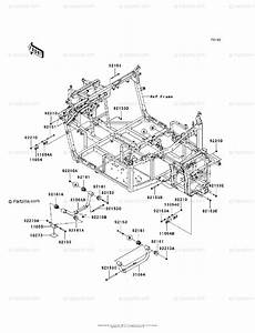 Kawasaki Side By Side 2008 Oem Parts Diagram For Engine