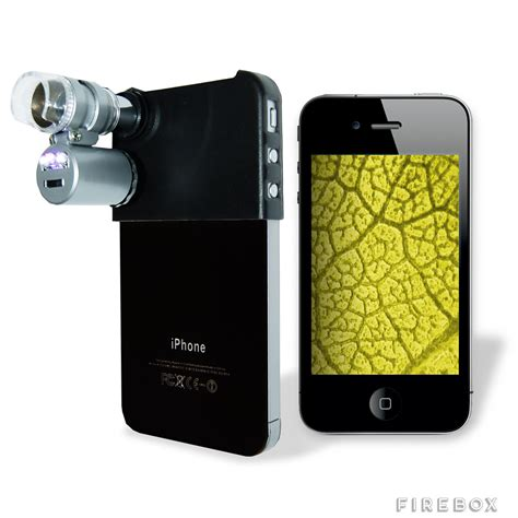 iphone microscope mini microscope for iphone firebox shop for the