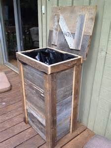 kitchen trash can ideas 25 best ideas about rustic kitchen trash cans on wooden trash can trash can ideas
