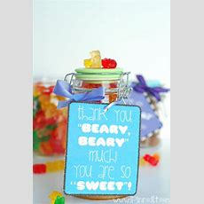 """""""thank You 'beary, Beary' Much! You Are So 'sweet'!"""" This Simple Yet Adorable Thank You Idea"""
