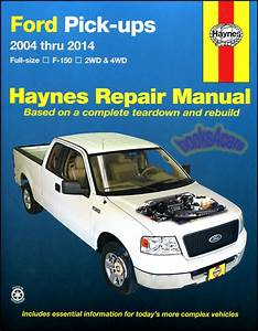 Shop Manual F150 Service Repair Ford Haynes Book Pickup