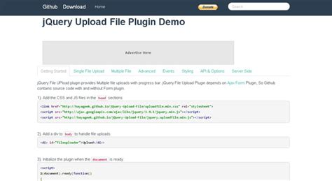 form plugin with file upload 20 jquery file upload plugins jqueryhouse