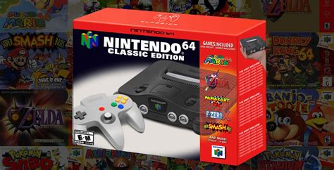 a nintendo 64 mini announcement must be coming soon with these