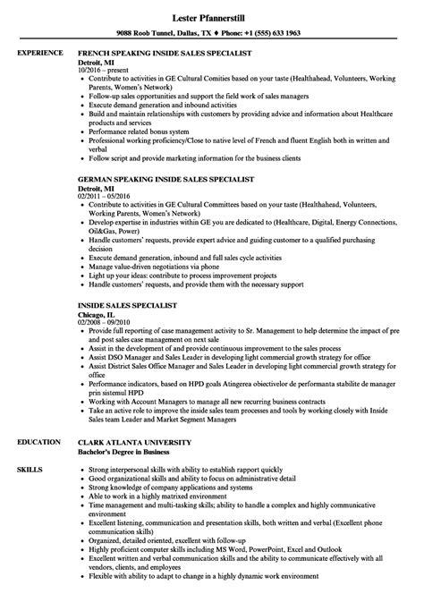 sle sales resume summary sle engineering internship
