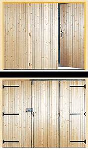 unique porte de garage avec porte interieur double battant With porte de garage et double porte bois interieur