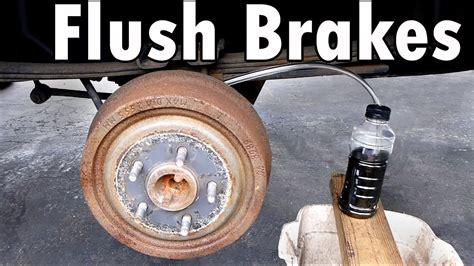 complete brake flush  bleed youtube