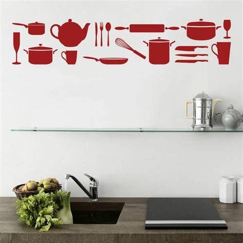 deco stickers cuisine déco murale cuisine ou comment rendre sa cuisine plus