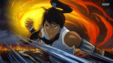 Legend Of Anime Wallpaper - the legend of korra wallpaper and background 1366x768