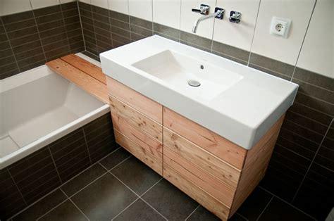 Badezimmer Unterschrank Industrie by Waschbecken Unterschrank Bauanleitung Zum Selber Bauen
