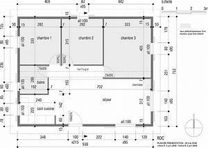 plan d une maison de 100m2 un plan d une maison devoiler With plan de maison 100m2 8 projets immobiliers loire atlantique 44