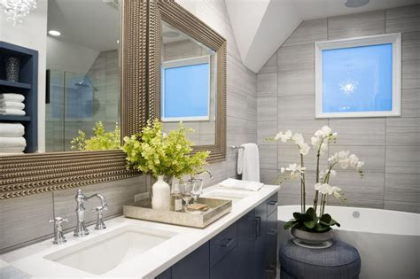 Hgtv Master Bathroom Designs by Pictures Of The Hgtv Smart Home 2015 Master Bathroom